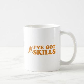 クールなサルサの技術のデザイン コーヒーマグカップ