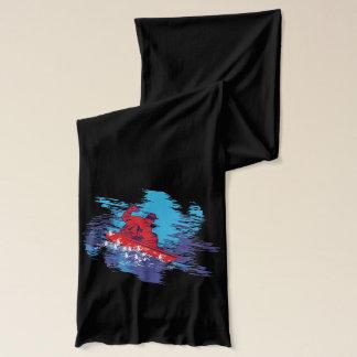 クールなスノーボーダー スカーフ