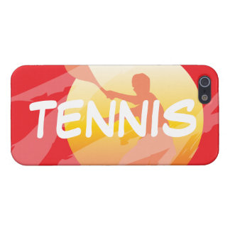 クールなテニスのiPhoneの場合 iPhone 5 カバー