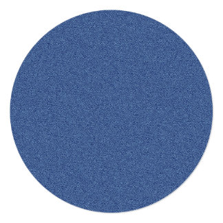 クールなデニムのブルー・ジーンズ カード