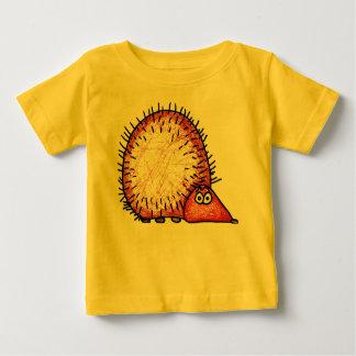 クールなハリネズミ ベビーTシャツ