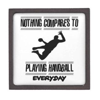 クールなハンドボールのデザインを向くこと ギフトボックス