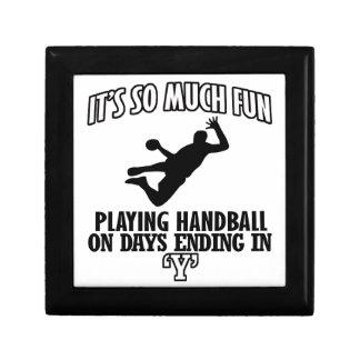 クールなハンドボールのデザイン ギフトボックス