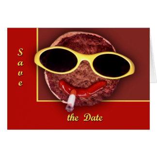 クールなハンバーガー カード