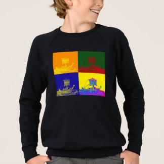 クールなバイキング: 破裂音 スウェットシャツ