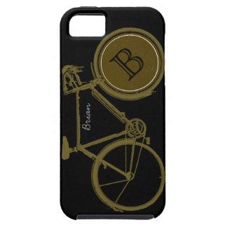 クールなバイクもしくは自転車に乗る人のためのカスタムな自転車 iPhone SE/5/5s ケース
