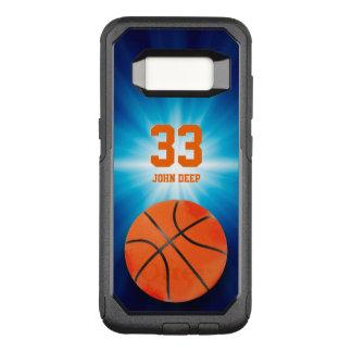 クールなバスケットボール|のスポーツのベストのギフト無し オッターボックスコミューターSamsung GALAXY S8 ケース