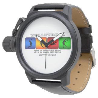 クールなバレーボールそれは生き方です 腕時計
