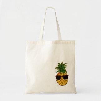クールなパイナップル トートバッグ