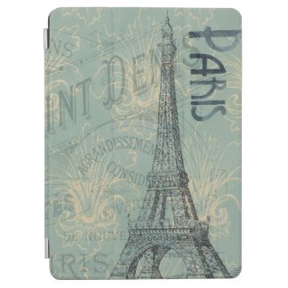 クールなパリおよびエッフェル塔 iPad AIR カバー