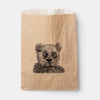 クールなパンダのカスタムなクラフトの好意のバッグ フェイバーバッグ