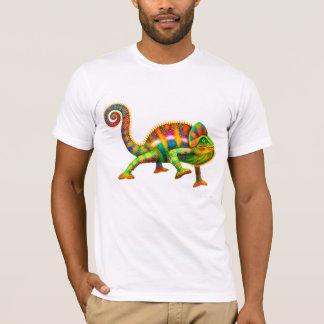 クールなヒョウのカメレオンのTシャツ Tシャツ