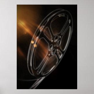 クールなビデオフィルムの生産映画巻き枠 ポスター