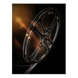 クールなビデオフィルムの生産映画巻き枠 ポストカード
