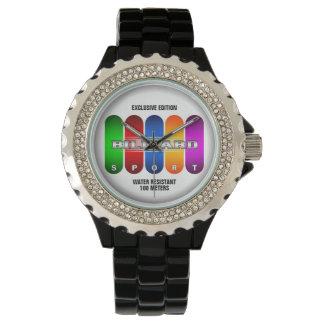クールなビリヤードのスポーツの腕時計(多数モデル) 腕時計
