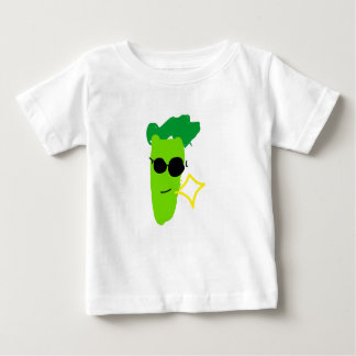 クールなブロッコリー ベビーTシャツ