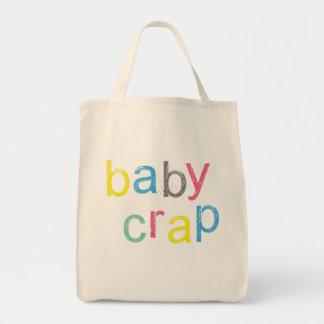 クールなベビーのがらくたのバッグ トートバッグ