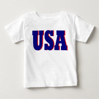クールなベビー2012米国のスポーツの運動Tシャツのギフト ベビーTシャツ