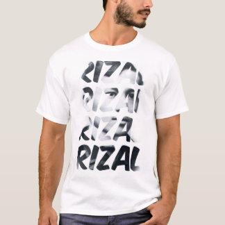 クールなホセRizalの活動家のタイポグラフィのTシャツ Tシャツ
