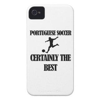 クールなポルトガルのサッカーのデザイン Case-Mate iPhone 4 ケース