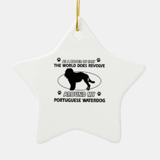クールなポルトガル人WATERDOGのデザイン セラミックオーナメント