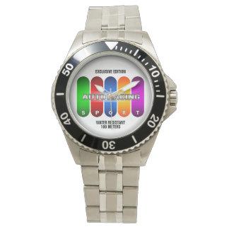 クールなモータースポーツのスポーツの腕時計(多数モデル) 腕時計