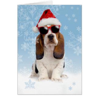 クールなユール(キリスト降誕祭)のクリスマスカード カード