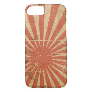 クールなレトロの日本のな立上がる日曜日Vintage iPhone 7ケース