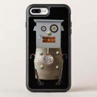 クールなロボットサイファイの電話箱 オッターボックスシンメトリーiPhone 8 PLUS/7 PLUSケース