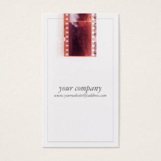 クールなヴィンテージのカメラマンのカメラのフィルム 名刺