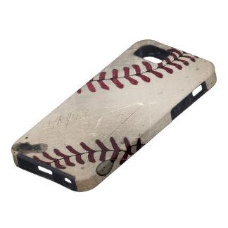 クールなヴィンテージのグランジな野球 iPhone SE/5/5s ケース