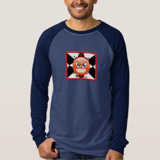 クールな人種差別反対主義分割の長袖のTシャツ無し Tシャツ