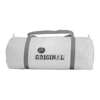 クールな元のプリントが付いている体育館のバッグ ジムバッグ