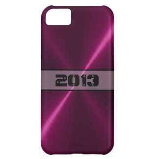 クールな光沢があるステンレス鋼の金属 iPhone5Cケース