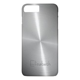 クールな光沢がある放射状の鋼鉄金属 iPhone 8 PLUS/7 PLUSケース