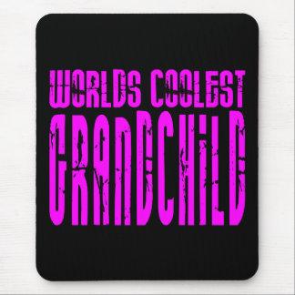 クールな孫のピンクの世界の最もクールな孫 マウスパッド