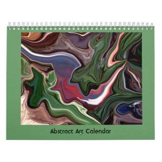 クールな抽象美術 カレンダー