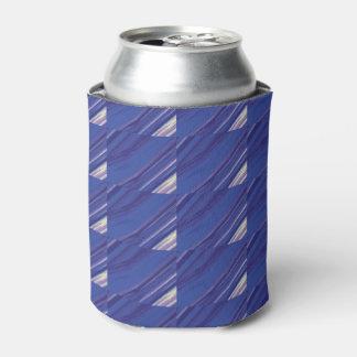 クールな斜めの青いビール袖/よりクール/居心地のよい 缶クーラー