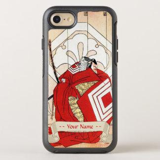 クールな日本の伝説の英雄の武士の戦士の芸術 オッターボックスシンメトリーiPhone 7 ケース