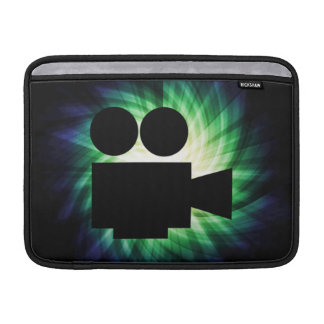 クールな映画用カメラ; ビデオフィルム MacBook スリーブ
