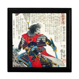 クールな東洋のクラシックな日本の武士の戦士の芸術 ギフトボックス