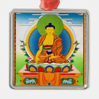 クールな東洋のチベットのthangkaの入れ墨Aksobhya メタルオーナメント