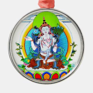 クールな東洋のチベットのthangkaの入れ墨Bhogavati メタルオーナメント