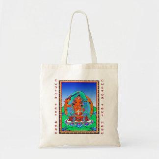 クールな東洋のチベットのthangkaの入れ墨Manjusri トートバッグ