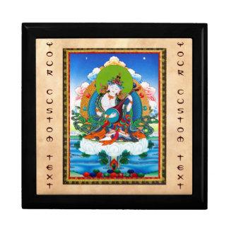 クールな東洋のチベットのthangkaの入れ墨Saraswati ギフトボックス