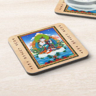 クールな東洋のチベットのthangkaの入れ墨Saraswati コースター