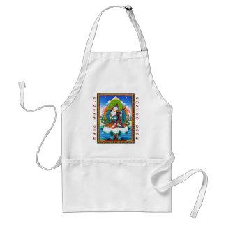 クールな東洋のチベットのthangkaの入れ墨Saraswati スタンダードエプロン