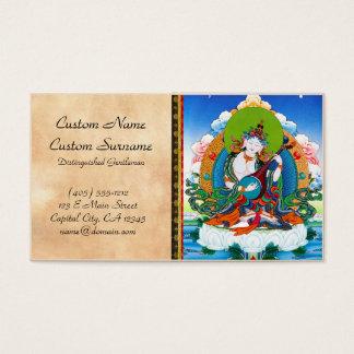 クールな東洋のチベットのthangkaの入れ墨Saraswati 名刺