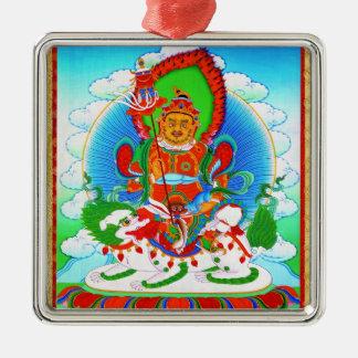クールな東洋のチベットのthangkaの入れ墨Vaishravana メタルオーナメント