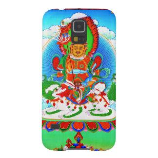 クールな東洋のチベットのthangkaの入れ墨Vaishravana Galaxy S5 ケース